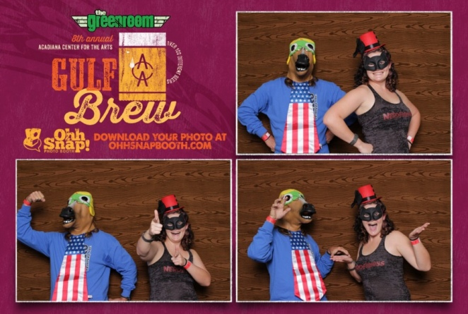 Daddy & me at Gulf Brew 2014